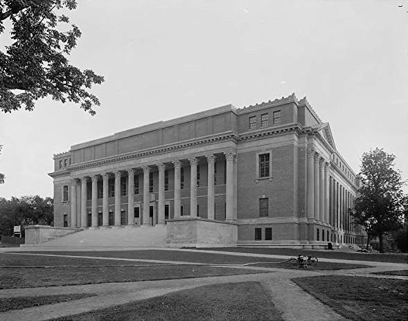 Widener Library—1914